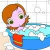 Nadine prend son bain