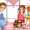 Boite de chocolats pour la Saint Valentin