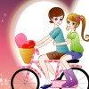 Les amoureux à vélo