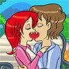 Les amoureux sur le banc public