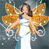 La fille belle comme un ange