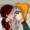 Embrasser des beaux garçons