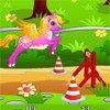 La course de poney