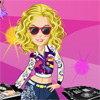 Une fille DJ
