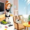 Nettoyer une chambre dans un hôtel