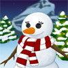 Décorer un bonhomme de neige