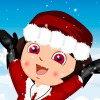 Maquillage d'hiver pour Dora l'exploratrice