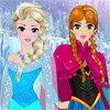 La coiffure de Elsa et Anna du film 'La Reine des neiges'