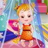 Bébé Hazel célèbre la fête des mères et fabrique des cadeaux