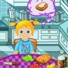 Aider Bébé Ella à préparer des sandwichs pour le pic-nic