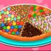 Faire une pizza sucrée de bonbons délicieuse pour les enfants
