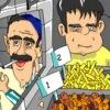Vendre des kebabs et des frites