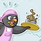 Penny, la gentille femelle pingouin serveuse sur la banquise !